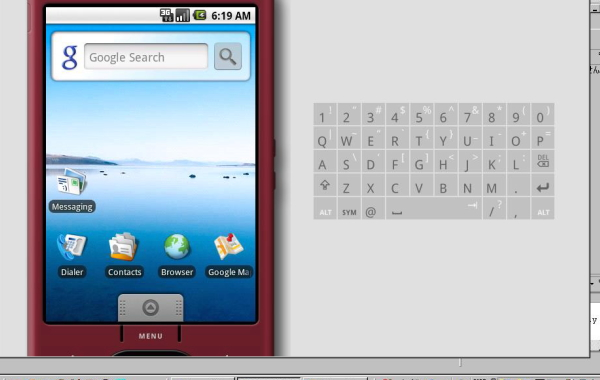 Android Virtual Devices(default)