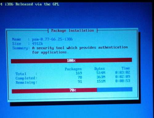 CentOS 4.7 IRLP 7.04