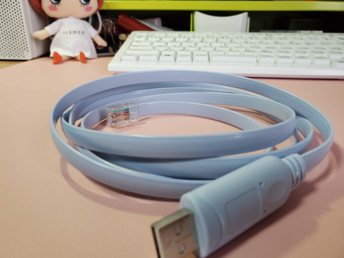USB RJ45 シリアル コンソールケーブル