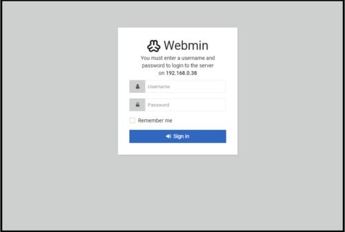 webmin